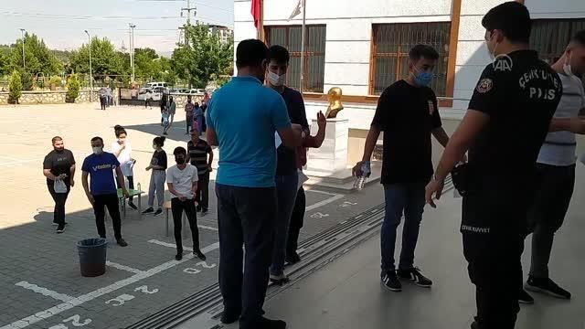 GAZİANTEP - İslahiye'de YKS heyecanı