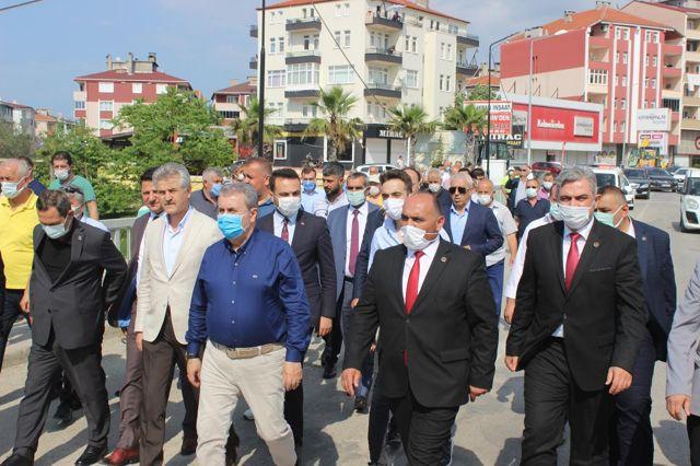 BBP Genel Başkanı Destici, Sinop'ta