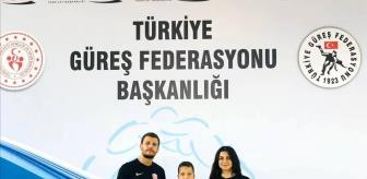 Yahya Yılmaz: Kepez Belediyespor güreşçisi minderde Türkiye 2'ncisi