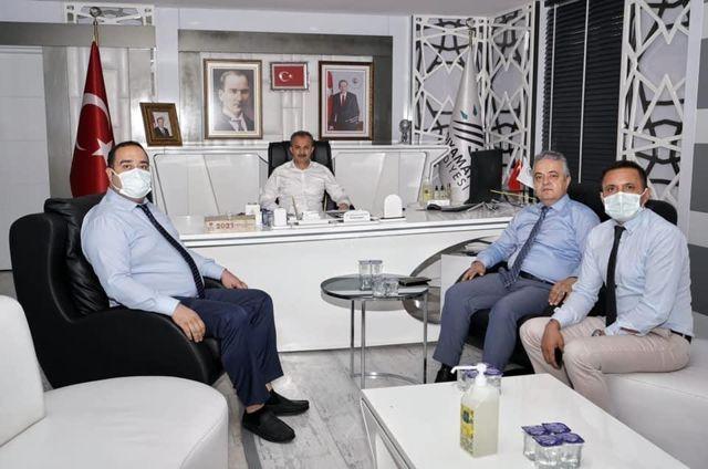 Tapu ve Kadastro Bölge Müdürü Erşen'den, Başkanımıza Ziyaret
