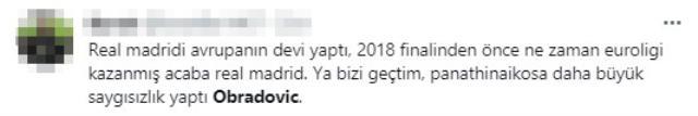 Obradovic'ten Fenerbahçelileri üzen sözler: Avrupa'da Partizan ile aynı seviyede olan tek kulüp Real Madrid'dir