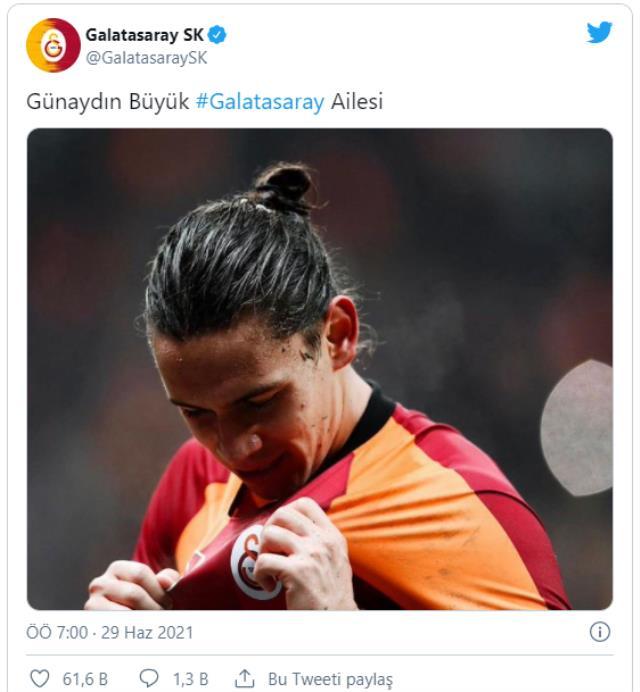 Galatasaray'dan tişörtüyle tartışma yaratan Taylan Antalyalı'ya destek mesajı