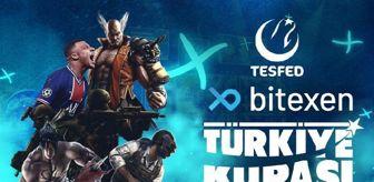 Lisans: Bitexen, 3. TESFED Türkiye Kupası'na sponsor oldu