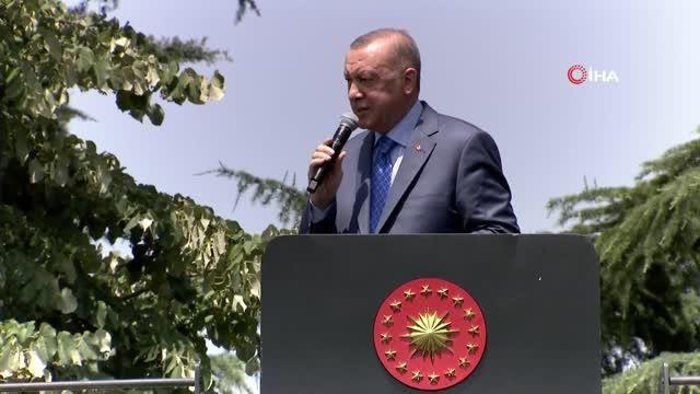 Cumhurbaşkanı Erdoğan: 'Bizde bütün ekibi sıkıştıracağız ve buradan Altay'ın 2023'ün başında orduya teslim törenini yapacağız'