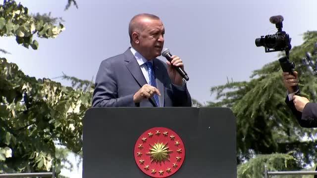Cumhurbaşkanı Erdoğan: 'Doğu Akdeniz'de Kıbrıs'taki bütün o denizlerde petrol arama işlemlerimizi yürüteceğiz'