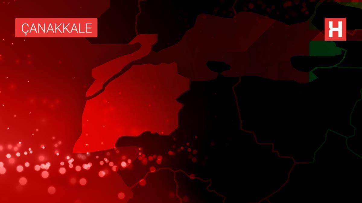 Son dakika haberleri: Ezine'de çöplükte yangın; havadan ve karadan müdahale ile kontrol altına alındı (2)