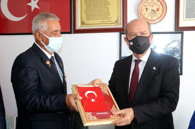 KKTC Cumhurbaşkanı Tatar'dan Malatya kayısısına övgü dolu sözler