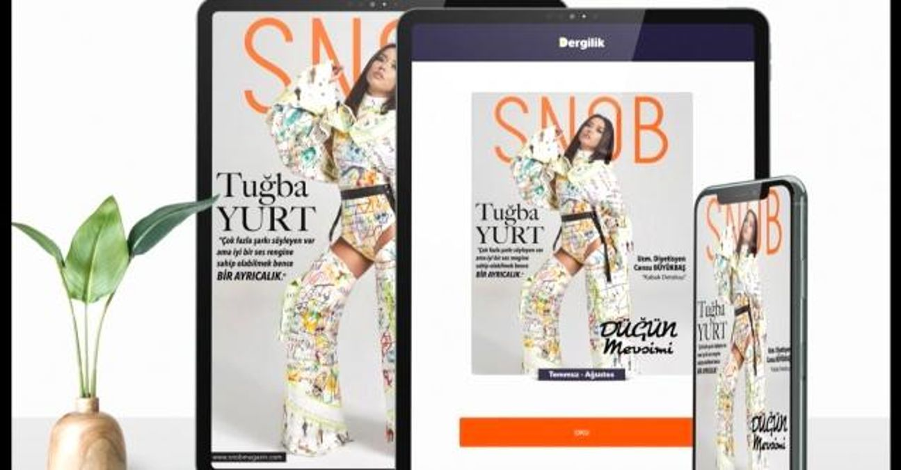 Snob Magazin Dergisi altıncı sayısıyla yayında