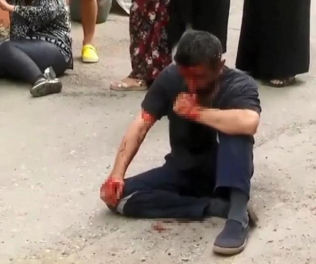 Bursa'da 5 yaşındaki kızı taciz eden sapık mahalleli tarafından tekme tokat dövüldü