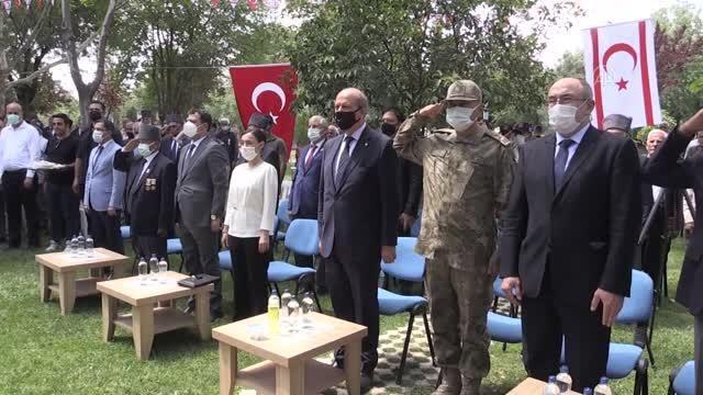 Son dakika haberleri! DİYARBAKIR - KKTC Cumhurbaşkanı Tatar, Kıbrıs gazileriyle bir araya geldi