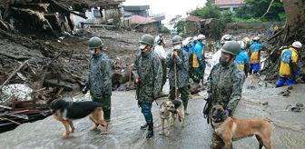 Meteoroloji: Japonya'daki sel ve heyelan felaketinde ölü sayısı 4'e yükseldi