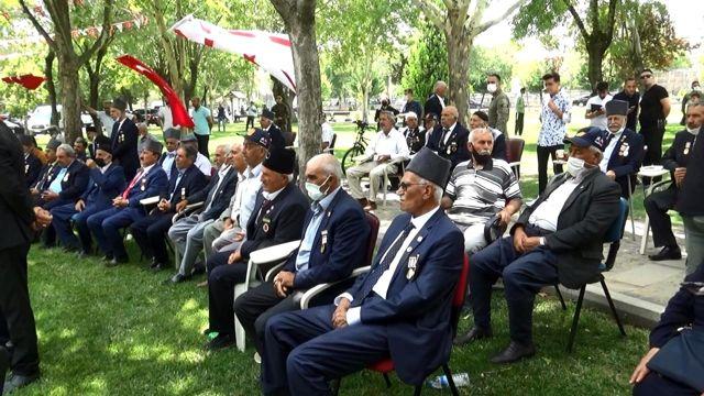 KKTC Cumhurbaşkanı Tatar, Diyarbakır'da Kıbrıs Gazileri ile bir araya geldi