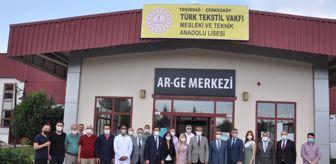 Selami Abban: Tekirdağ Mesleki Eğitim Ar-Ge Merkezi açıldı