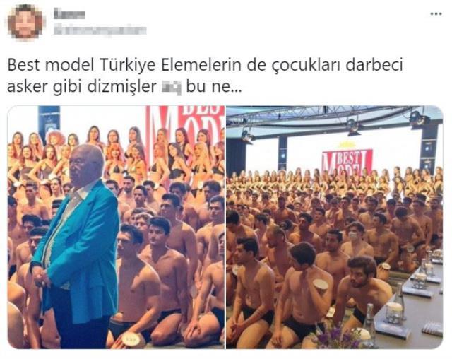 Best Model Türkiye seçimlerinde yarışmacıların yere oturduğu görüntüler sosyal medyada alay konusu oldu