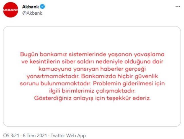 Sistemi çöken Akbank'taki sorun 24 saat geçti çözülemedi! Binlerce müşteri mağdur durumda