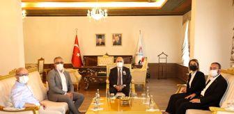 Alpaslan Kavaklıoğlu: Bakan Yardımcısı Kavaklıoğlu, Belediye Başkanı Savran'ı ziyaret etti
