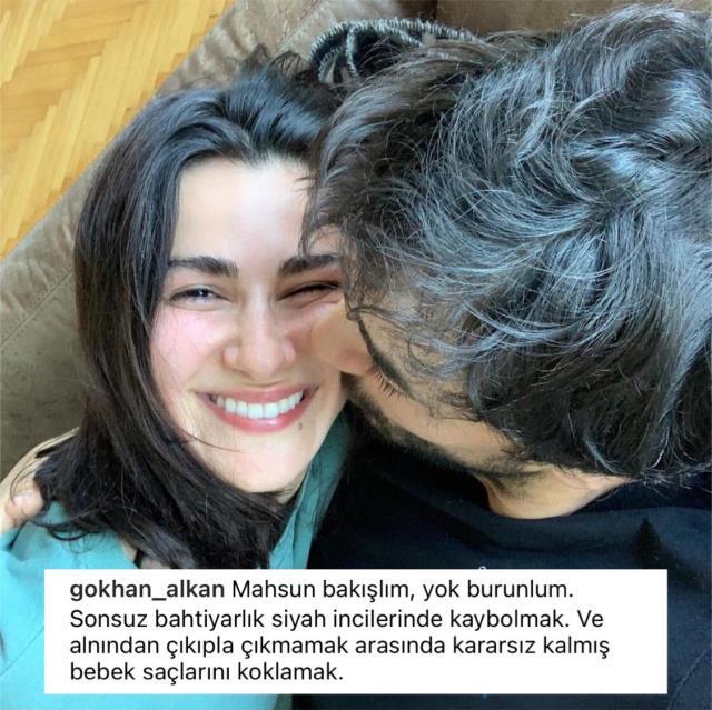 Gökhan Alkan aşka geldi! Sevgilisi Nesrin Nesrin Cavadzade'ye methiyeler düzdü