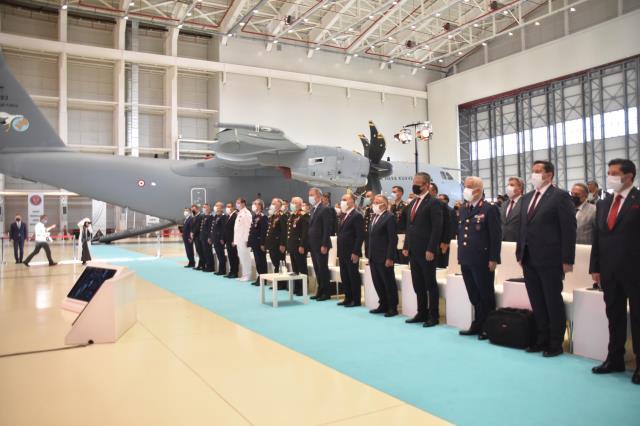 Uçak Bakım Tesisi Açılış Töreni'nde konuşan Cumhurbaşkanı Erdoğan: 14 ay gibi rekor bir sürede tamamladık