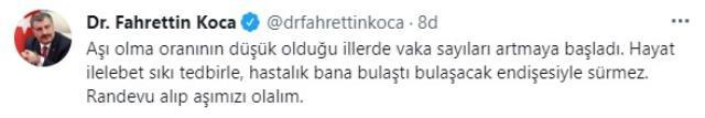 Son Dakika: Türkiye'de 9 Temmuz günü koronavirüs nedeniyle 59 kişi vefat etti,  5 bin 670 yeni vaka tespit edildi