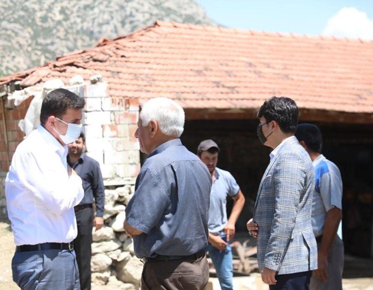 Vali Arslantaş'tan Salda Gölü'nde boğularak yaşamını yitiren Mehmet Yayla'nın ailesine taziye ziyareti