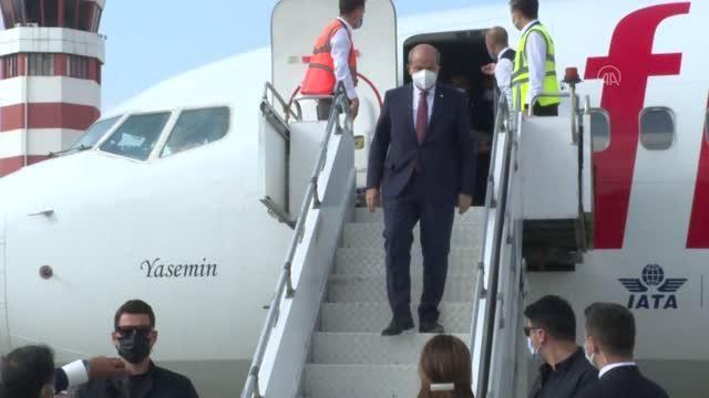 Son dakika haberi! KKTC Cumhurbaşkanı Ersin Tatar Adana'ya geldi