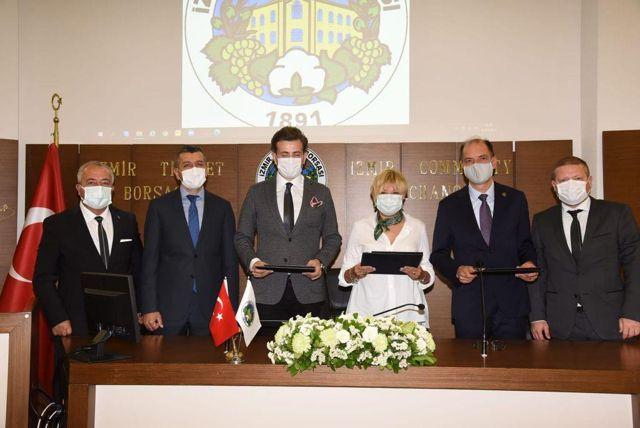Şanlıurfa'da kurulacak pamuk lisanslı deposu için İzmir Ticaret Borsası laboratuvar desteği verecek