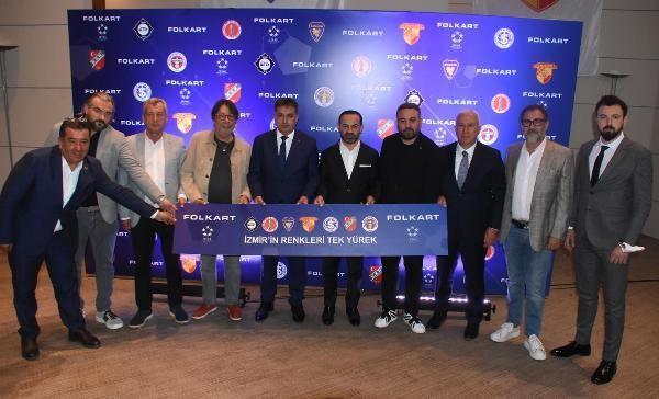 Folkart İzmir'in 7 spor kulübüne forma göğüs sponsoru oldu