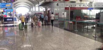 Malatya: İstanbul Havalimanı'nda bayram tatili yoğunluğu