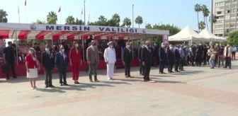 Baki Şimşek: KKTC Cumhurbaşkanı Ersin Tatar Mersin'de