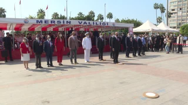 KKTC Cumhurbaşkanı Ersin Tatar Mersin'de