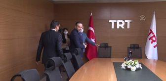 İbrahim Eren: TRT'de devir teslim töreni yapıldı