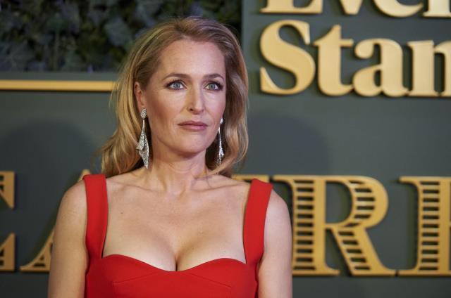 'Göğüslerim göbek deliğime kadar sarksa bile sütyen takmayacağım' diyen ünlü oyuncu Gillian Anderson'a komşuları isyan etti
