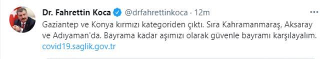 Son Dakika: Türkiye'de 15 Temmuz günü koronavirüs nedeniyle 48 kişi vefat etti, 7 bin 304 yeni vaka tespit edildi