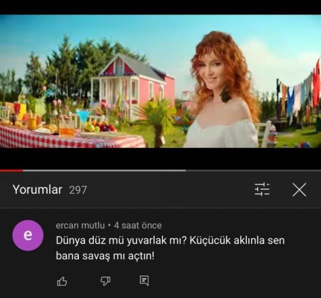 Youtube'de yeni çıkardığı şarkının altına yorum yaptı! Şarkıcı Gülden'e eski eşinden tehdit