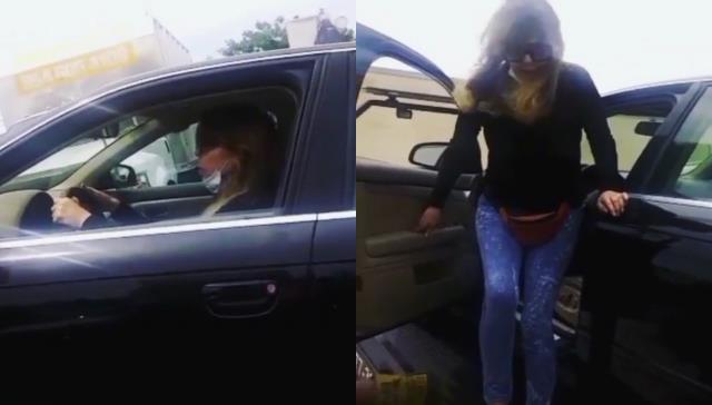 Ahu Tuğba, kızı Anjelik'in lüks otomobilini tamircilere tepki göstererek çöpe attı