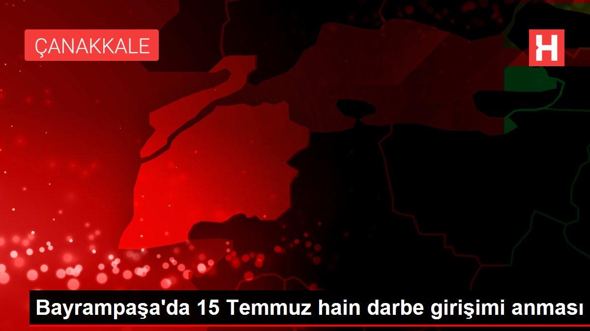 Bayrampaşa'da 15 Temmuz hain darbe girişimi anması