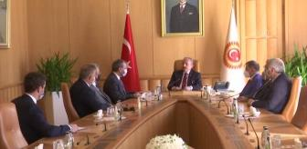 Recep Uncuoğlu: Deprem Araştırma Komisyonu Başkanı Uncuoğlu, komisyon raporunu TBMM Başkanı Şentop'a sundu