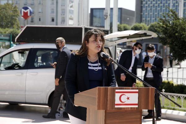 TAKSİM'DE 20 TEMMUZ ÖZGÜRLÜK VE BARIŞ BAYRAMI KUTLAMASI