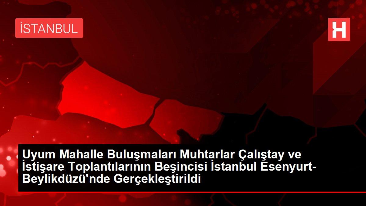 Uyum Mahalle Buluşmaları Muhtarlar Çalıştay ve İstişare Toplantılarının Beşincisi İstanbul Esenyurt- Beylikdüzü'nde Gerçekleştirildi