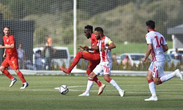 SPOR Erciyes Yüksek İrtifa Kamp Merkezi'ndeki ilk maçta Samsunspor, Kayserispor'u yendi
