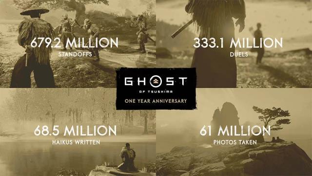 Ghost of Tsushima oyuncu istatistikleri açıkladı!