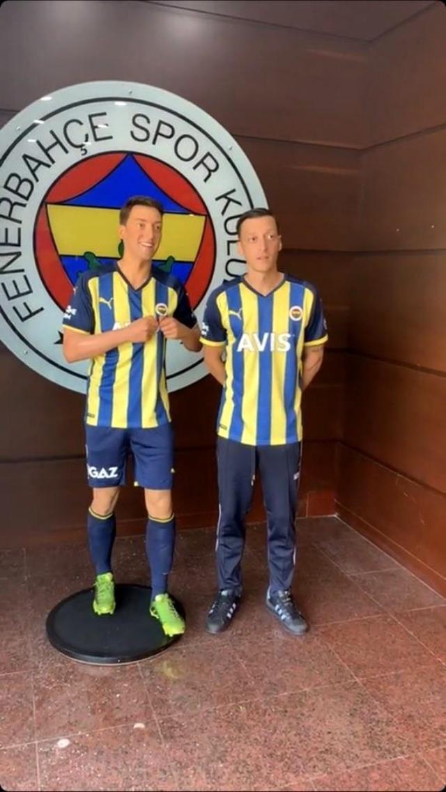 İkinci Mesut Özil, Türkiye'de! Yıldız futbolcunun balmumu heykeli Madame Tussauds İstanbul'da sergilenecek
