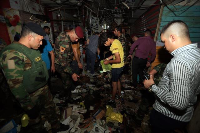 Bağdat'ta halk pazarına terör saldırısı: 22 ölü, 47 yaralı