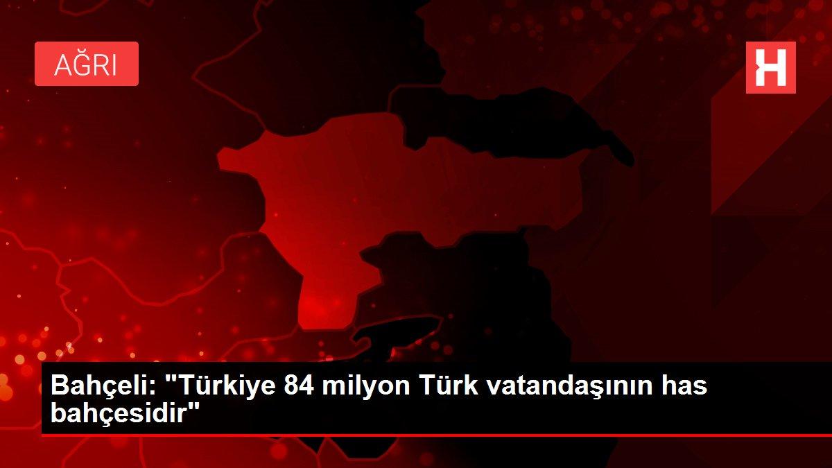 MHP Genel Başkanı Bahçeli'den Kurban Bayramı mesajı Açıklaması