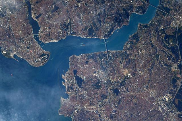 Istanbul sharing from the world-famous NASA astronaut Shane Kimbrough