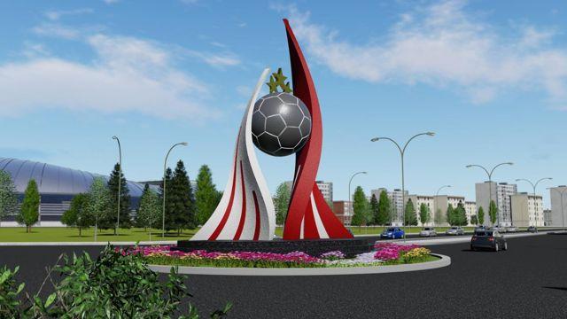 Sivas Belediyesi taraftarın isteği üzerine Sivasspor için meydan düzenlemesi ve anıt yapacak