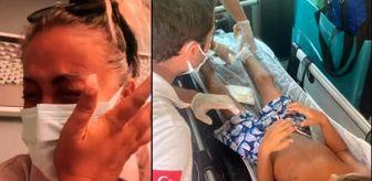 Yeliz Yeşilmen: Yeliz Yeşilmen, oğlunun geçirdiği talihsiz kazayı anlatırken gözyaşlarına boğuldu