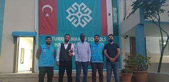 Ramazan Özdemir: TDV'den, Somaliland-Hargeysa Maarif Okulu'na ziyaret