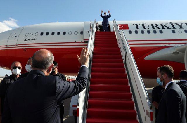 Son dakika haber   Cumhurbaşkanı Erdoğan KKTC'den ayrıldı