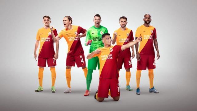 Galatasaray'ın Avrupa kupalarındaki maçlarda forma sponsoru Türk Hava Yolları oldu